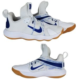 New Nike react hyperset volleyball shoes white